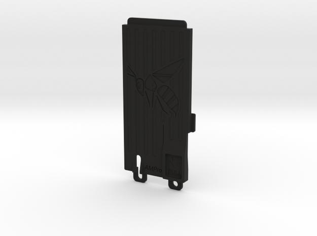 045006-02 Ampro Battery Door, Hornet 极速电竞比分网 in Black Natural Versatile Plastic