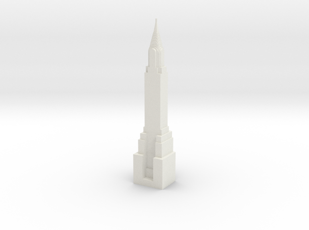 NY BISHOP in White Natural Versatile Plastic