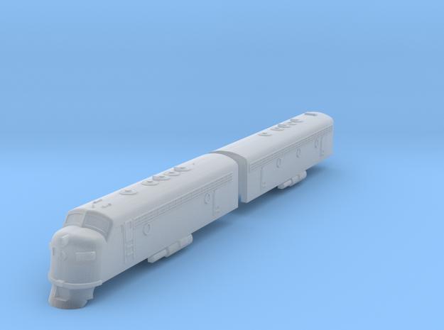 EMD FP7 in Smoothest Fine Detail Plastic