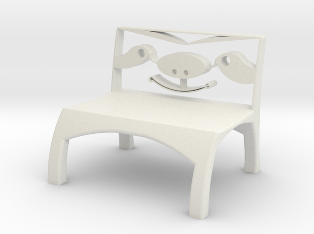Sloth Chair in White Strong & Flexible