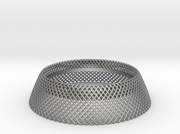 Mercure III in Natural Silver
