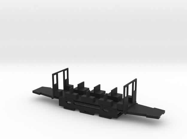 Fahrgestell Kiel Beiwagen Elze in Black Natural Versatile Plastic