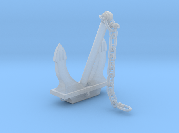 Anchor Danforth Z Scale in Smooth Fine Detail Plastic