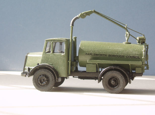 1:43 Dennis Pax Cab & Gully Emptier Chassis 1940s 3d printed