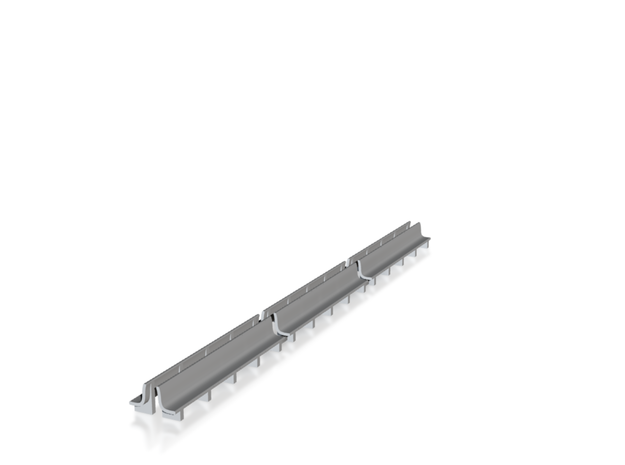 N Scale Bench x6