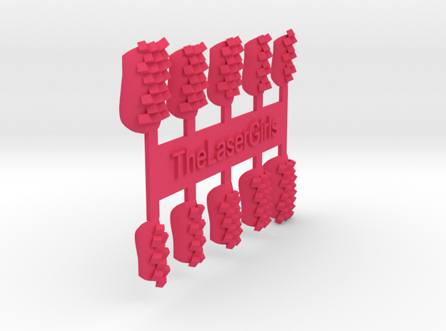 Cube Nails (Size 1) 3d printed