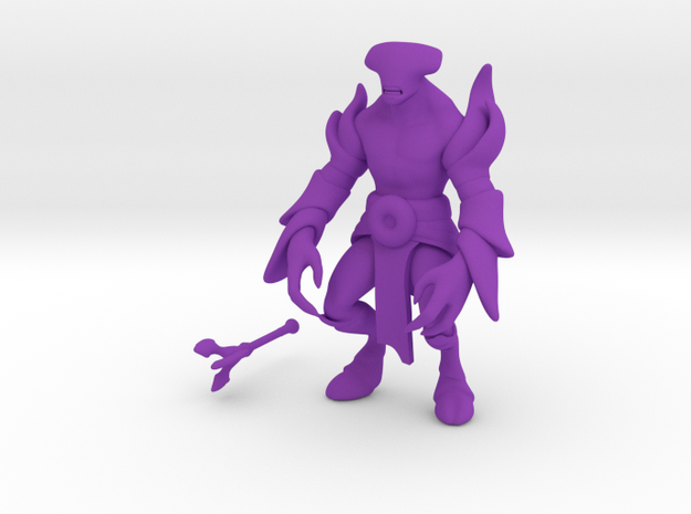 Faceless Void in Purple Processed Versatile Plastic