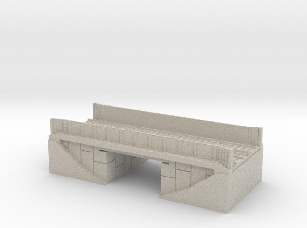 16 Bit Train Bridge 3d printed