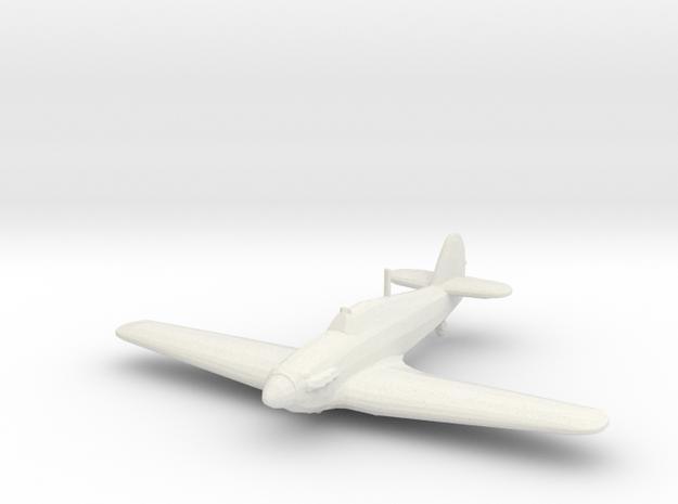 Hawker Hurricane Mk.I in White Natural Versatile Plastic: 1:200