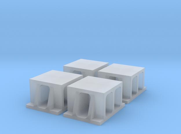 Proto TTScale (1:120) Boller & Hodge Bridge Shoe in Smooth Fine Detail Plastic