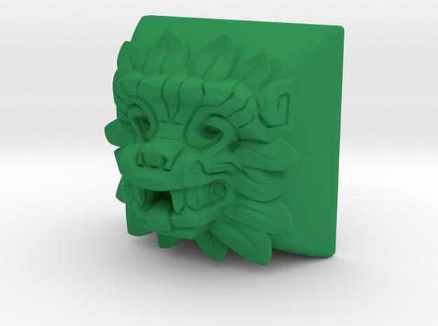Quetzalcoatl (Topre DSA) in Green Strong & Flexible Polished