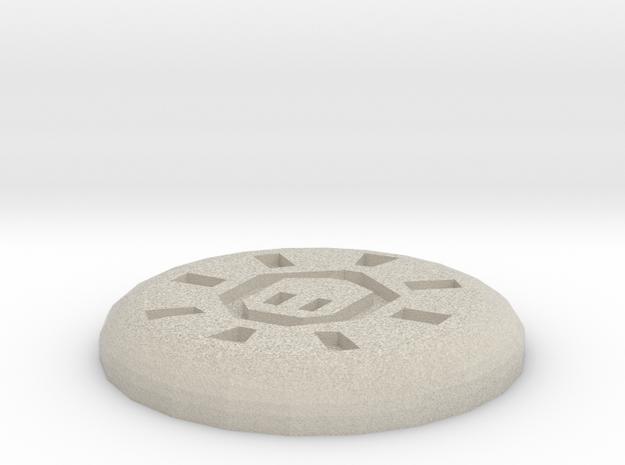 Mind Rune in Sandstone