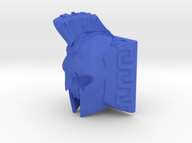 Spartan Ghost Keycap (Cherry MX DSA) in Blue Processed Versatile Plastic