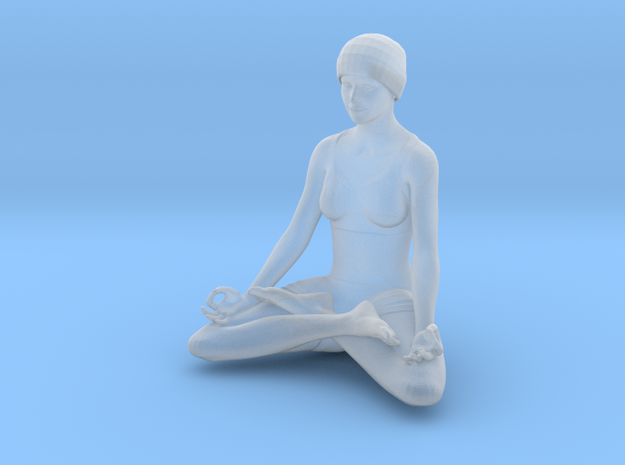 Lotus position (2.5 cm) in Smooth Fine Detail Plastic