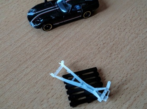 Chassis Toyota 2000gt Hotwheels  in Smoothest Fine Detail Plastic