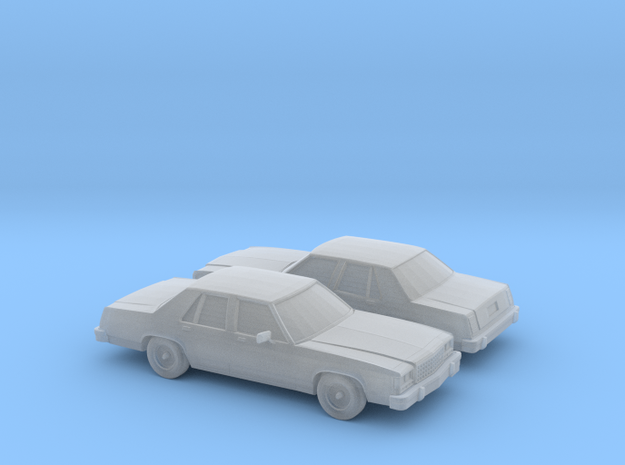 1/160 2X 1979-87 Ford Crown Victoria