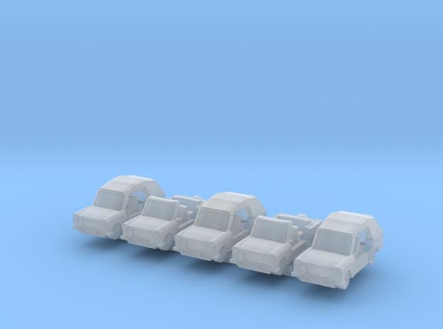 1/300 Trabant Kuebel x5 3d printed