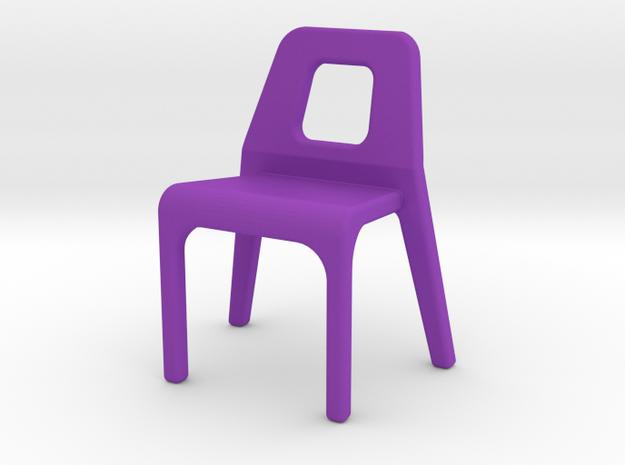 Chair Tyari in Purple Strong & Flexible Polished
