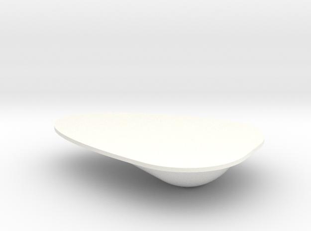 Gobbo in White Processed Versatile Plastic
