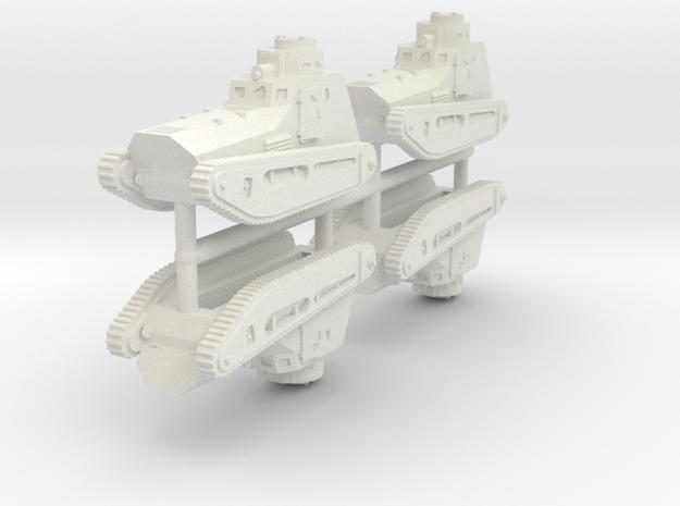 1/200 LK-II (x4) in White Strong & Flexible