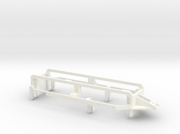 RhB Gm3-3 Rear axles mount in White Processed Versatile Plastic