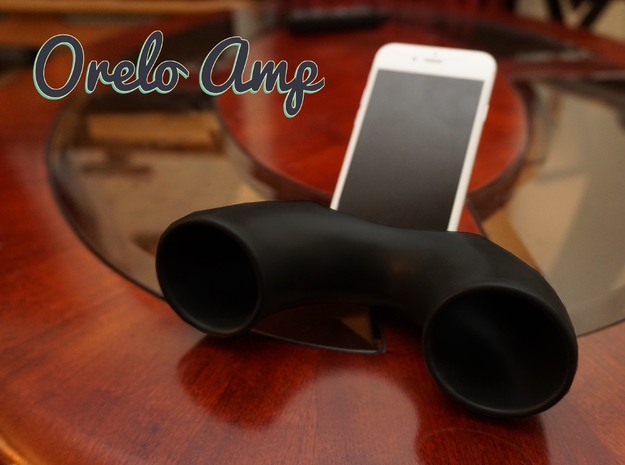Orelo Amp (Phone Amplifier) in Matte Black Porcelain