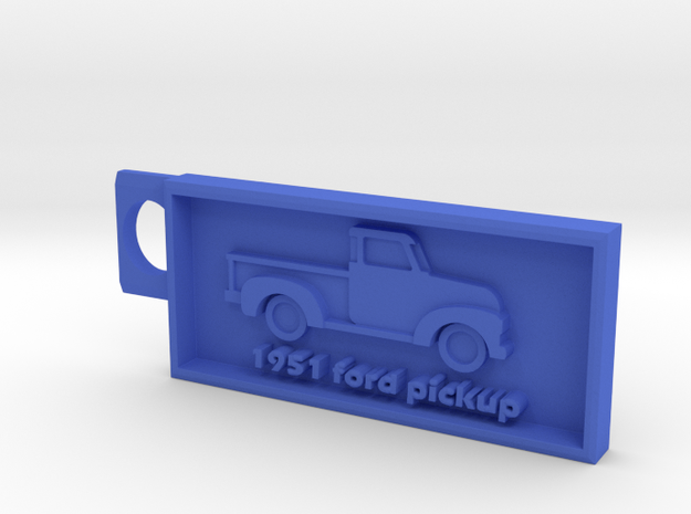 1951 Ford Pickup  in Blue Processed Versatile Plastic