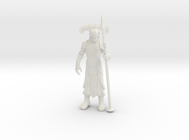 Underworld Guardian in White Natural Versatile Plastic