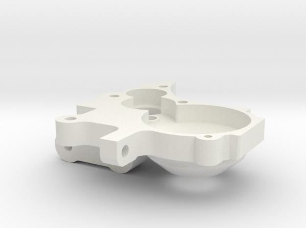 JB Carbon Serpent SRX-2 MM 3 Gear Left Side in White Strong & Flexible