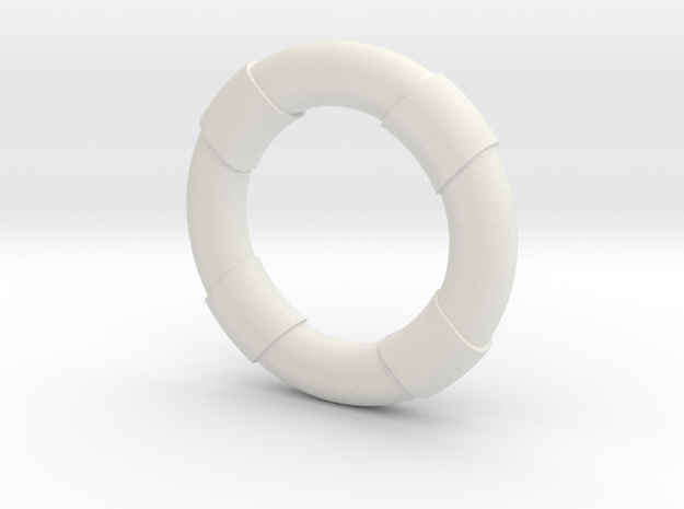 1:30 Life Preserver in White Strong & Flexible
