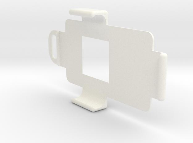 Renault Kadjar Key Holder / Keychain support in White Processed Versatile Plastic