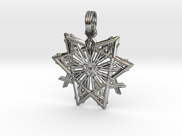 GALACTIC PRANA in Premium Silver