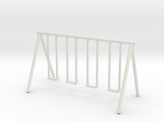 Playground Swing - HO 87:1 Scale