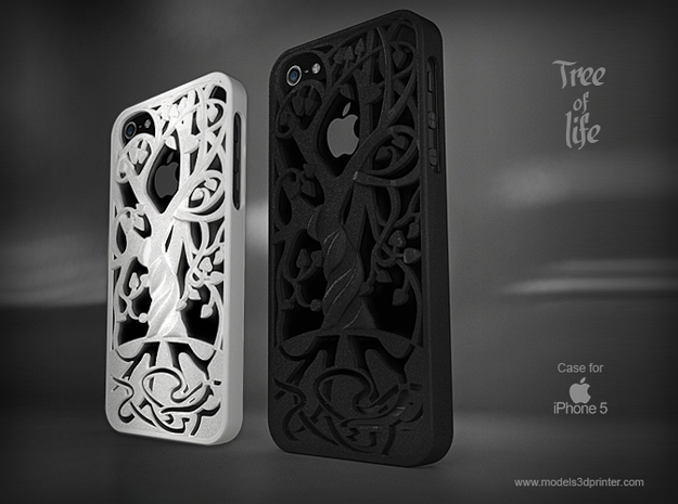 "Iphone 5, 5S case ""Tree of life"""
