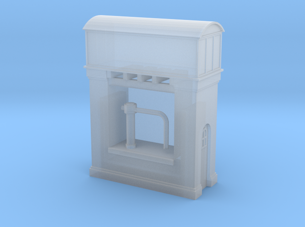 (1:450) GWR Water Tower #2 in Smooth Fine Detail Plastic