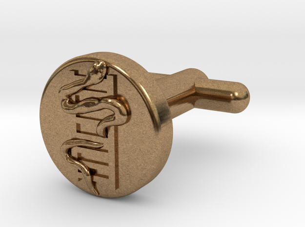 Snakes And Ladders Cufflinks 3d printed