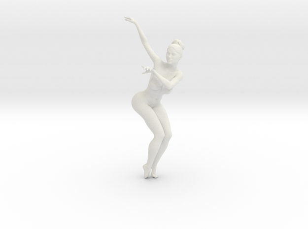 1/18 Nude Dancers 016 in White Natural Versatile Plastic