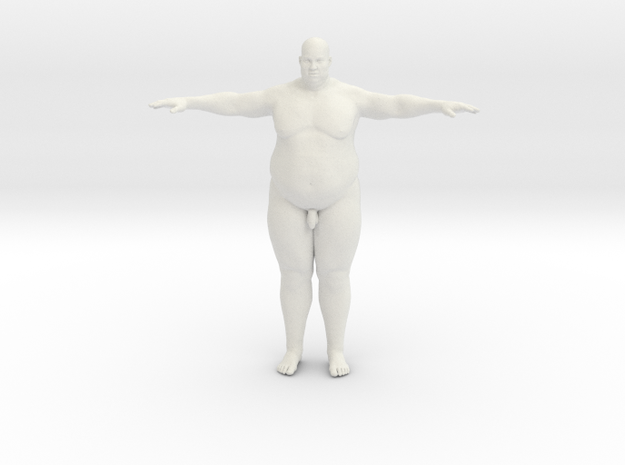 2016-Fat-Man-001-1bi20 in White Natural Versatile Plastic