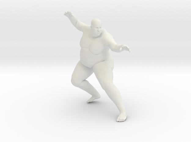 1/20 Fat Man 003 in White Natural Versatile Plastic