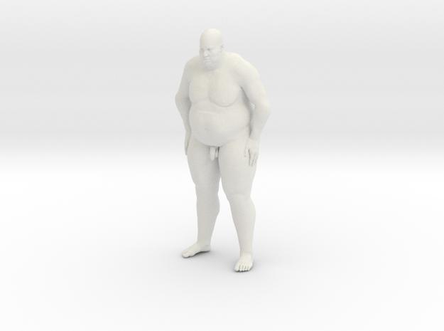 1/20 Fat Man 006 in White Natural Versatile Plastic