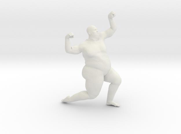 1/20 Fat Man 010 in White Natural Versatile Plastic