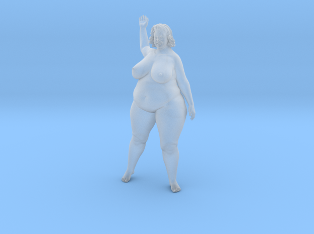 1/32 Fat Woman 004 in Smooth Fine Detail Plastic