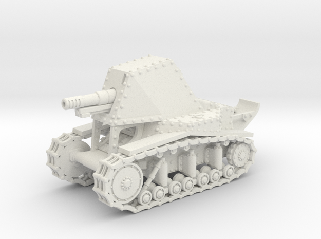 SU-18 (20mm) in White Natural Versatile Plastic