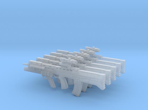 1/18 scale BAE Systems L-85A2 rifles x 5