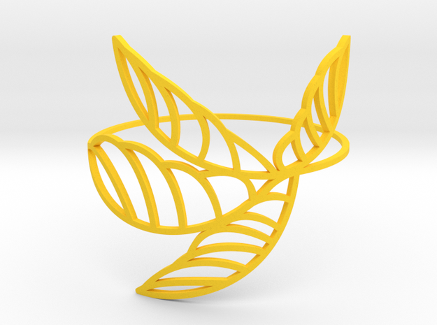 Palm_I in Yellow Strong & Flexible Polished