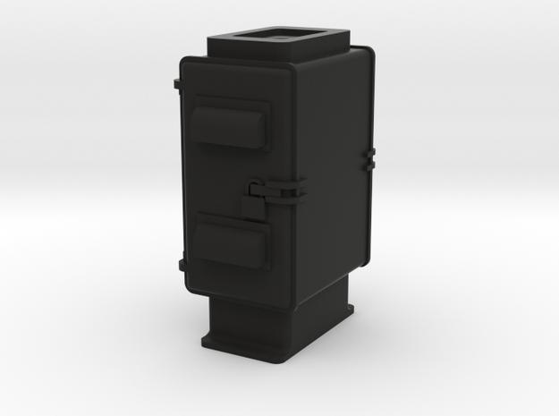 NYC Transit Relay Cab 3 in Black Natural Versatile Plastic