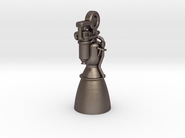 Rocket Engine Key Fob
