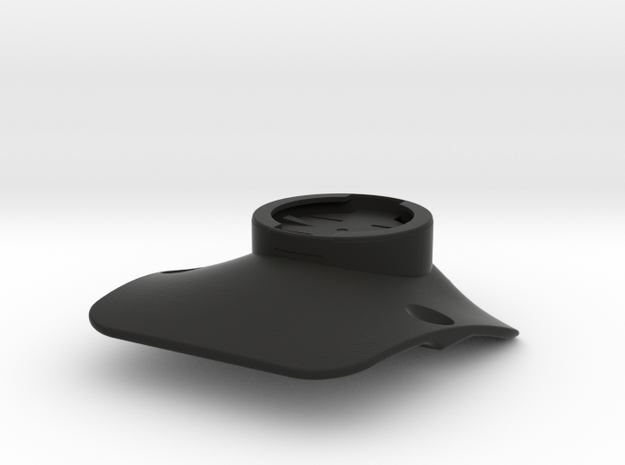 IA Garmin Mount in Black Natural Versatile Plastic