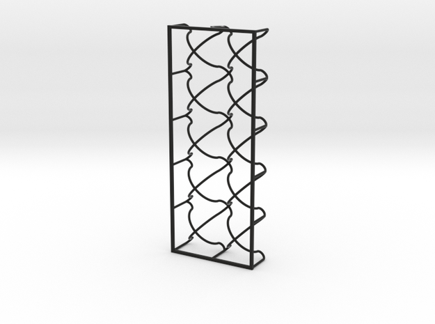 Wire - Egg Box in Black Strong & Flexible
