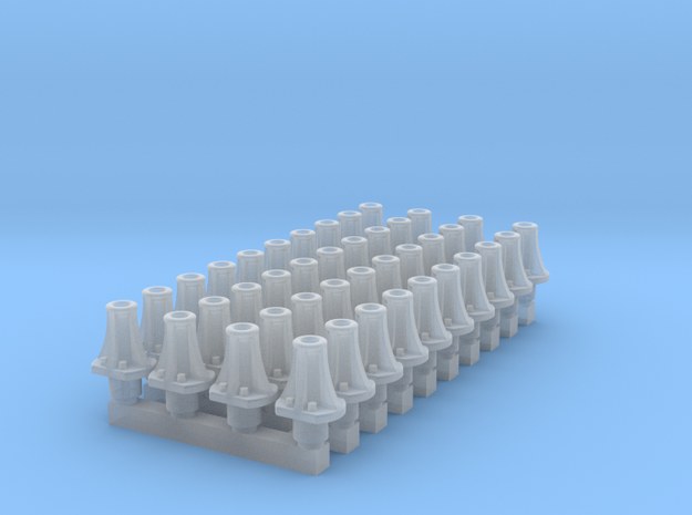 RCH Unfitted Buffer * 40 in Smooth Fine Detail Plastic